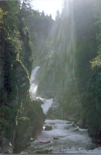 Misty Valdez: image of waterfall